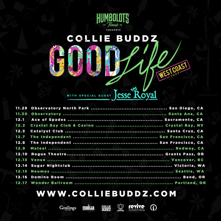 Collie Buddz Good Life West Coast Tour Viva La Hip Hop