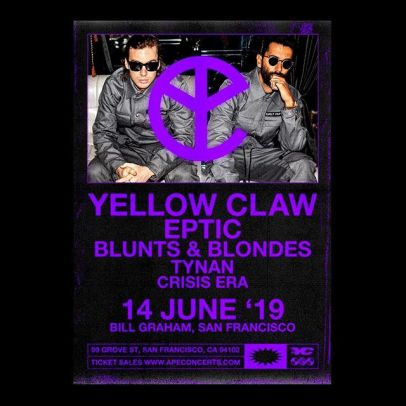 Image result for yellow claw sf