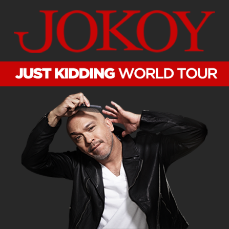 Image result for Jo Koy - Just Kidding World Tour